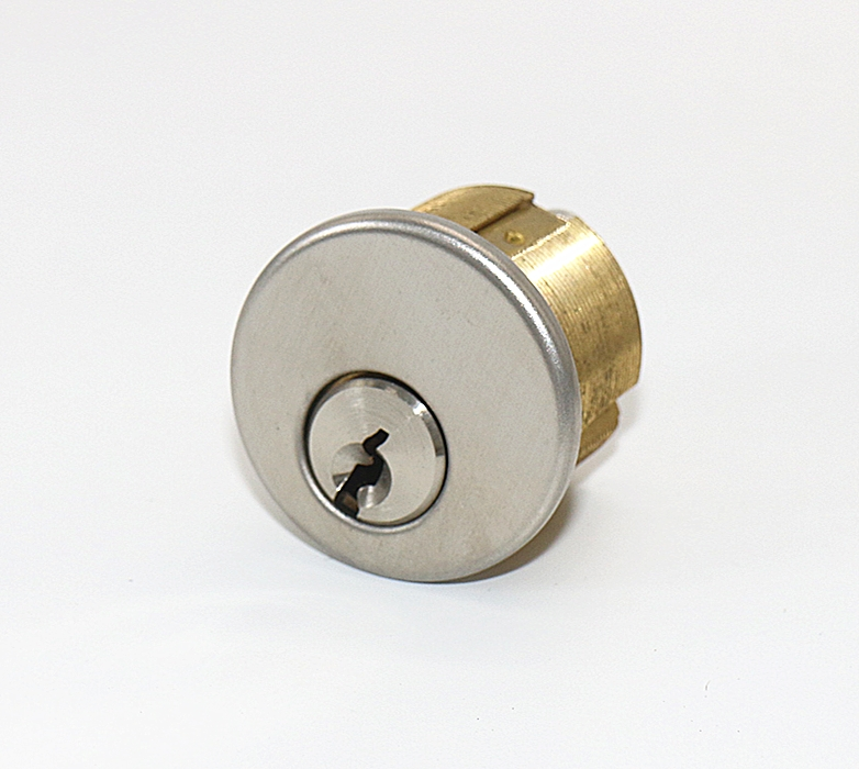 Mortise Cylinder, Solid Brass, 21 Keyways, 8 Cams, 8 Finishes